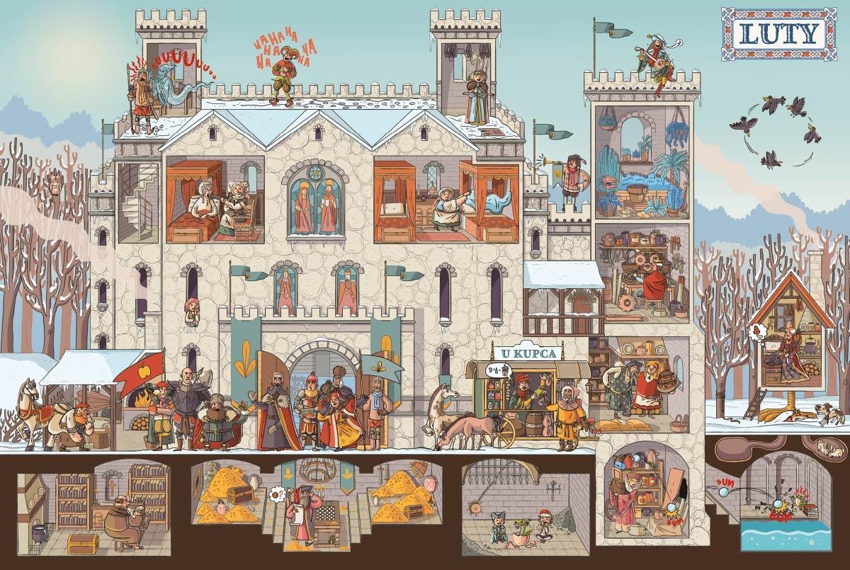 Rok na zamku Nikola Kucharska