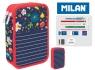 Piórnik MILAN 2-poziomowy z wyposażeniem FLOWERY 081264FW