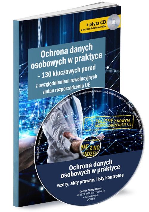 Ochrona danych osobowych w praktyce Książka z płytą CD