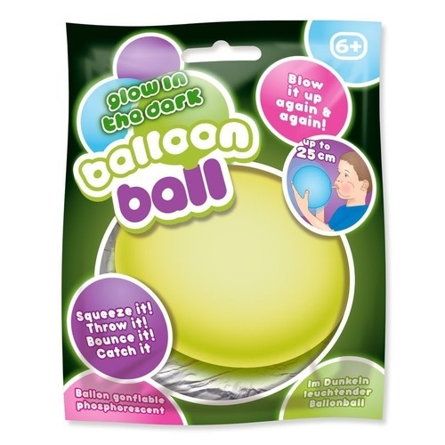 Świecąca w ciemności piłka balonowa mix