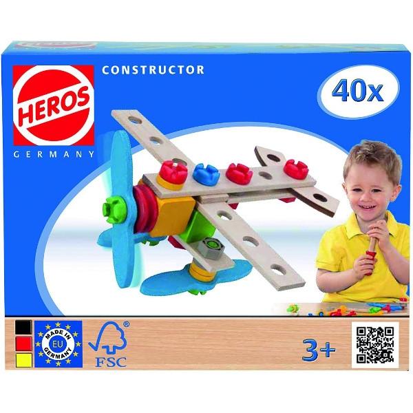 HEROS Konstruktor Samolot 40 el. (100039013)