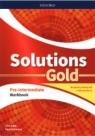 Solutions Gold. Pre-Intermediate Workbook z kodem dostępu do wersji cyfrowej Falla Tim, Davies Paul A.