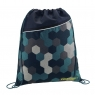 COOCAZOO worek na buty RocketPocket II, kolor: Blue Geometric Melange