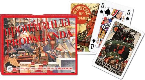 Karty do gry Piatnik 2 talie, Propaganda - Fabryka