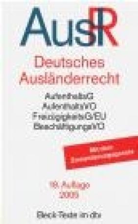 Deutsches Auslanderrecht AuslR