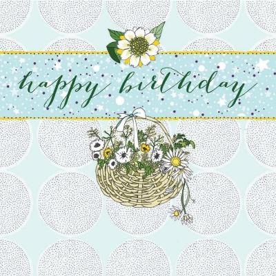 Karnet Swarovski kwadrat CL0201 Urodziny kosz