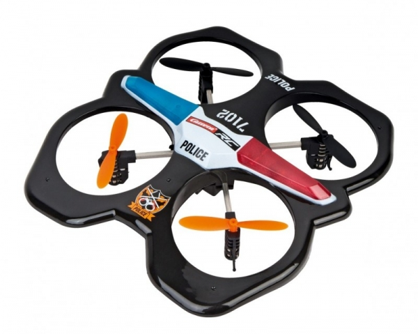 RC Quadrocopter Police (503014)