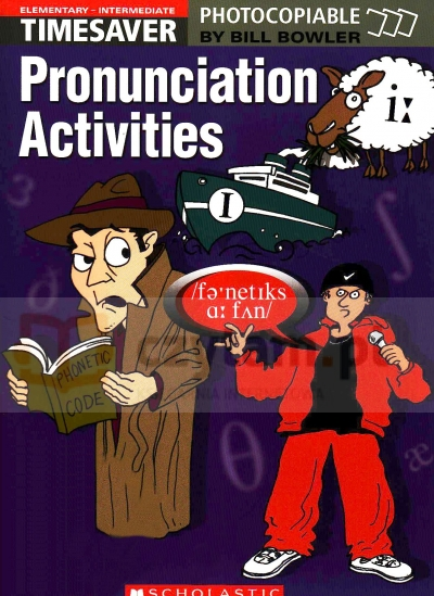 Timesaver: Pronunciation Activities Elem z CD Bill Bowler