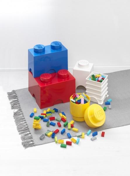 Pojemnik klocek LEGO® Brick 1 (Zielony) (40011734)