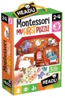 Puzzle Montessori: Moje Pierwsze Puzzle - Farma (20140)