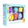Zestaw zabawek sensorycznych z wypustkami - 6 szt. (454198)