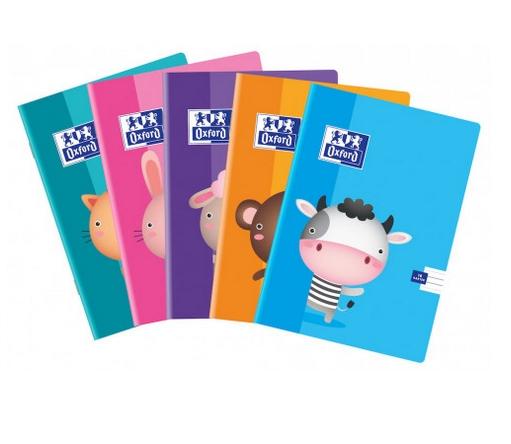 Zeszyt Oxford Kids A5 16 kartek linia podwójna kolorowa Oxford
