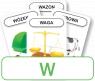 Karty: Logopedyczny Piotruś - Część XXIV, głoska W