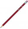 Ołówek Titanum drewniany z gumką 4B (83726)