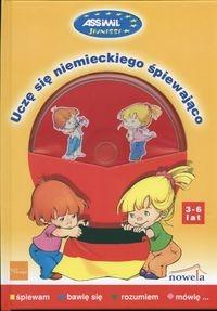 Uczę się niemieckiego śpiewająco + CD 3-6 lat Kamińska J., Kin Danuta