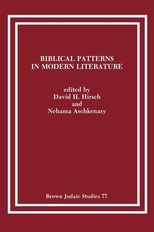 Biblical Patterns in Modern Literature