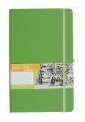 Notes A5 z gumką Romantyzm linia zielony