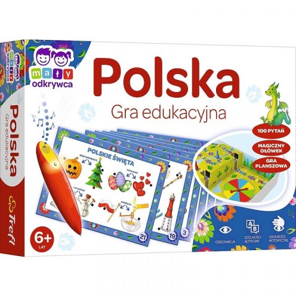 Gra Polska Magiczny ołówek (02114)