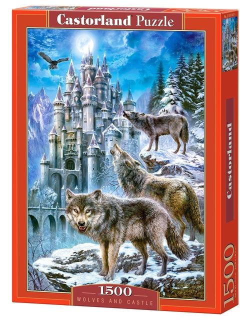 Puzzle Wolves and Castle 1500 (C-151141)