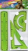 Zestaw geometryczny 3 części 20 cm Bambino flexi