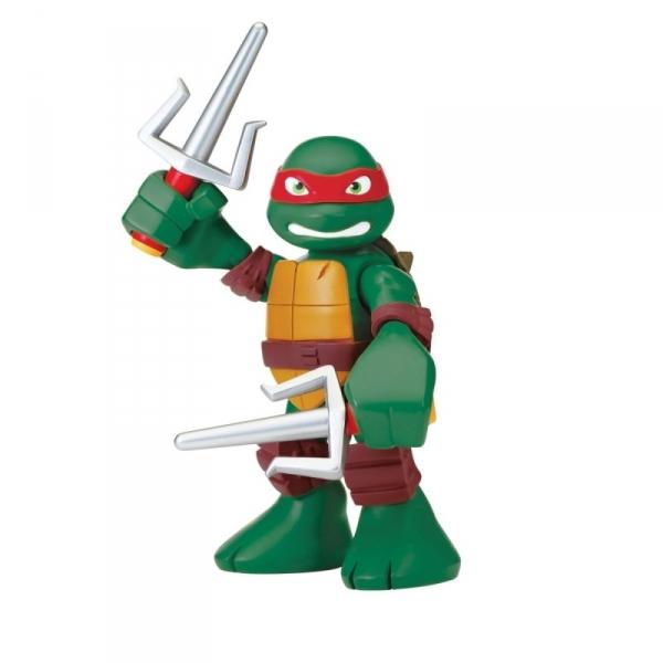 TURTLES Figurka z dźwięk iem RaphHalf Shell Heros
