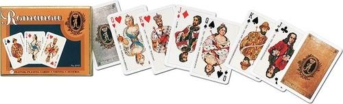 Karty do gry Piatnik 2 talie lux Dynastia Romanowów