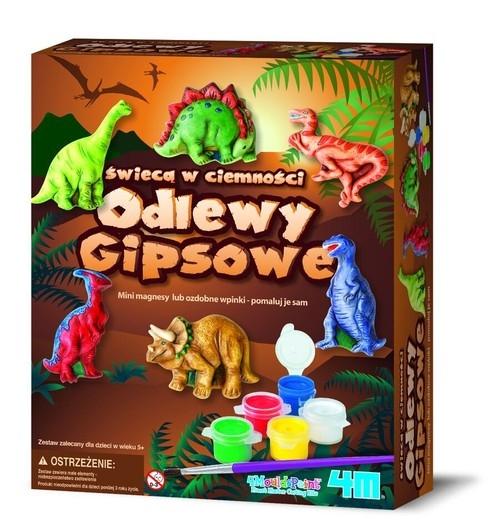 Odlewy gipsowe - Dinozaury (3514)