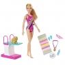 Barbie: Lalka pływaczka z pieskiem (GHK23)Wiek: 3+