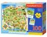 Puzzle edukacyjne 100: Mapa Polski (E142)