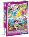 Puzzle Księżniczki 2x60 (07114)
