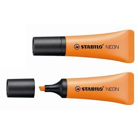 Zakreślacz Stabilo Neon, 10 szt. - pomarańczowy