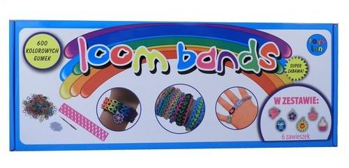 Gumki Loom Bands zestaw z krosnem w pudełku