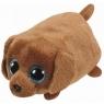 Maskotka Teeny Tys Ranger - brązowy pies 10 cm (TY 42214)