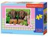 Puzzle Dachshund Puppies 120 elementów