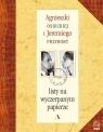Listy na wyczerpanym papierze Osiecka Agnieszka, Przybora Jeremi