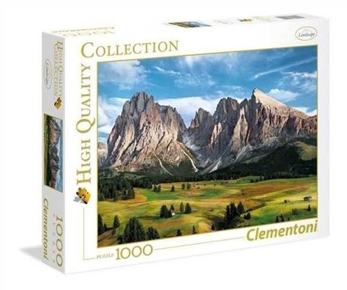 Puzzle 1000 High Quality Collection: The Coronation Of The Alps (39414) (Uszkodzone opakowanie)