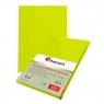 Karton do bindowania Titanum skóropodobny A4 - żółty (141380)