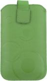 Etui na telefon rozmiar XL kolor zielony koła (EMA101G-XL)