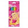 Kredki ołówkowe 12 kolorów Barbie (276564)