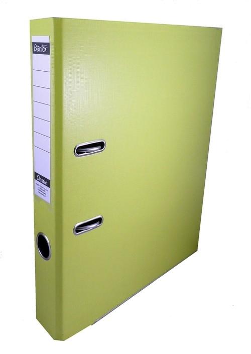 Segregator dźwigniowy A4 Bantex Classic PP 5 cm - żółty (400044678)