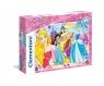 Puzzle Supercolor Maxi Księżniczki 104 (23714)
