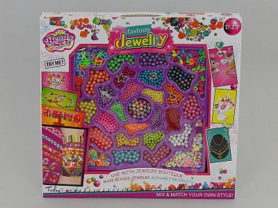 Koraliki dla dziewczynki Adar zestaw do tworzenia biżuterii (507142)