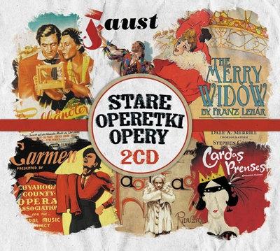 Stare opery, operetki 2 CD Różni Wykonawcy