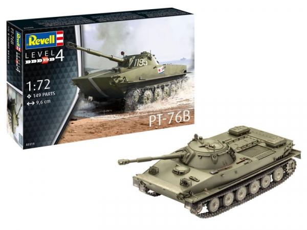 Model plastikowy do sklejania PT-76B (03314)