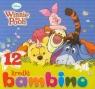 Kredki Bambino świecowe 12 kolorów Kubuś Puchatek