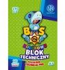 Blok rysunkowy Astra Bs & Unicorn A3/10k - kolorowy (456646)