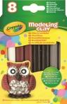 Plastelina naturalna Crayola - 4 kolory (57-0314)