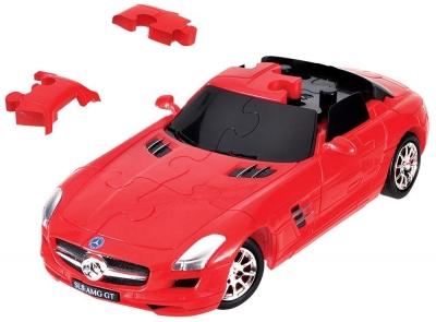 Puzzle 3D Cars - Mercedes SLS AMG - poziom 3/4 G3