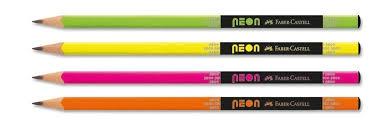Ołówek trójkątny neon kubek 72 szt. 561200 (516200)