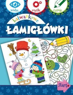 Bałwankowe łamigłówki Anna Wiśniewska